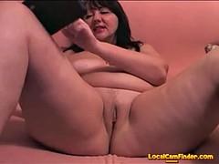 chubby russian mom masturbates
