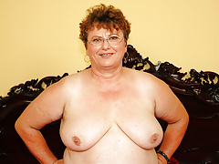 Chubby mature and their way young lover