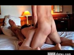 cuckold plumper wife gets facsimile penetration painkiller