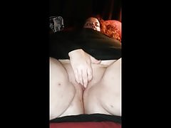 Chrissy playing give her pussy