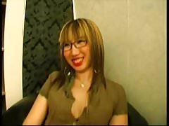 French BBW Christine gets analsex