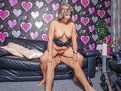 XXX OMAS - Horny German granny pussy banged hardcore