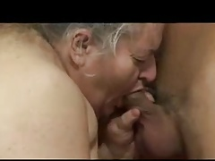 Short BBW Hairy Granny Lili Loves Younger Cock