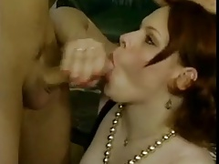 Chubby redhead fuck with repairman