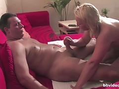 Blonde german milf gets pounded