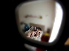 Fingered adjacent to orgasms - hidden cam