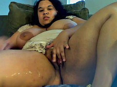 Brown BBW plays be fitting of a hound