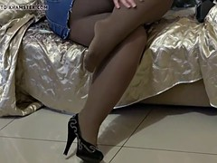 Free HD BBW tube Pantyhose